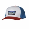 Patagonia Trucker Hat P-6 White