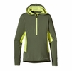 Patagonia Womens All Weather Zip Neck Hoody Camp Green