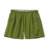 "Patagonia Womens Baggies Shorts 5"" Supply Green Small"