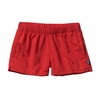 "Patagonia Womens Barely Baggies Shorts 2 1/2"" French Red"