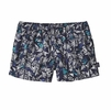 "Patagonia Womens Barely Baggies Shorts 2 1/2"" Quiver & Quill: Navy Blue"