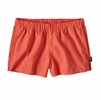"Patagonia Womens Barely Baggies Shorts 2.5"" Carve Coral"