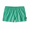 "Patagonia Womens Barely Baggies Shorts 2.5"" Galah Green"