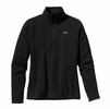 Patagonia Womens Better Sweater Fleece 1/4 Zip Black