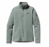Patagonia Womens Better Sweater Fleece 1/4 Zip Verdigris