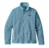 Patagonia Womens Better Sweater Fleece Jacket Cuban Blue