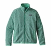 Patagonia Womens Better Sweater Fleece Jacket Galah Green