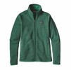 Patagonia Womens Better Sweater Fleece Jacket Impact Green