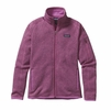 Patagonia Womens Better Sweater Fleece Jacket Mock Purple
