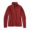 Patagonia Womens Better Sweater Fleece Jacket Ramble Red