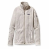 Patagonia Womens Better Sweater Fleece Jacket Raw Linen Small