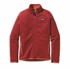Patagonia Womens Better Sweater Fleece Jacket Sumac Red