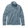 Patagonia Womens Better Sweater Fleece Jacket Tubular Blue