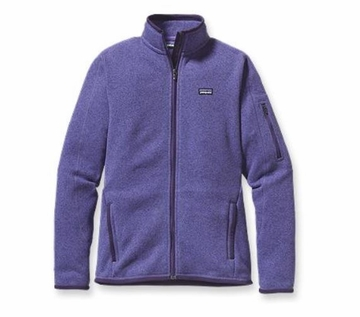 Patagonia Womens Better Sweater Fleece Jacket Violetti