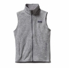 Patagonia Womens Better Sweater Fleece Vest Birch White Small