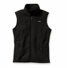 Patagonia Womens Better Sweater Fleece Vest Black