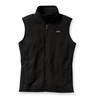 Patagonia Womens Better Sweater Fleece Vest Black Large