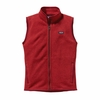 Patagonia Womens Better Sweater Fleece Vest Cochineal Red