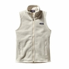 Patagonia Womens Better Sweater Fleece Vest Raw Linen