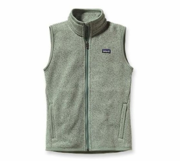 Patagonia Womens Better Sweater Fleece Vest Verdigris