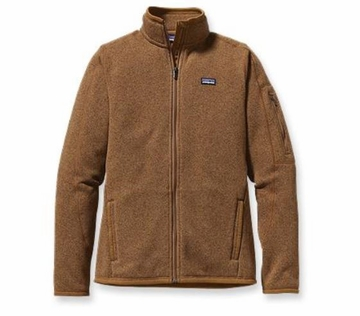 Patagonia Womens Better Sweater Fleece Jacket Bear Brown