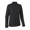 Patagonia Womens Capilene 2 Lightweight Zip Neck Black