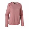Patagonia Womens Capilene 3 Midweight Crew Cochineal Red: Cupcake Pink X-Dye (Autumn 2014)