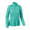 Patagonia Womens Capilene Midweight Zip-Neck Howling Turquoise