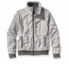 Patagonia Womens Conejo Fleece Jacket Feather Grey