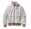 Patagonia Womens Conejo Fleece Jacket Raw Linen
