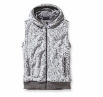 Patagonia Womens Conejo Fleece Vest Feather Grey