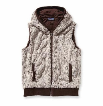 Patagonia Womens Conejo Fleece Vest Java Brown