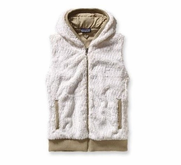 Patagonia Womens Conejo Fleece Vest Raw Linen