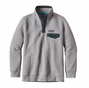 Patagonia Womens Cotton Quilt Snap-T Pullover Drifter Grey