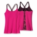 Patagonia Womens Cross Back Tank Shibori Panel: Radiant Magenta (Spring 2014)