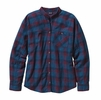Patagonia Womens Double Weave Woven Shirt Turf: Oxblood Red