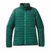 Patagonia Womens Down Shirt Arbor Green