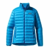 Patagonia Womens Down Sweater Jacket Andes Blue