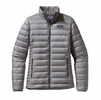 Patagonia Womens Down Sweater Jacket Feather Grey Large