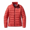 Patagonia Womens Down Sweater Jacket Sumac Red