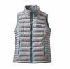 Patagonia Womens Down Sweater Vest Drifter Grey