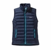 Patagonia Womens Down Sweater Vest Navy Blue