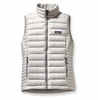 Patagonia Womens Down Sweater Vest Tailored Grey