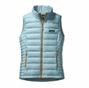 Patagonia Womens Down Sweater Vest Tubular Blue