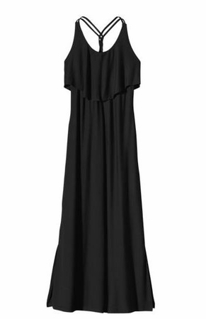 Patagonia Womens Folly Beach Dress Black  (Past Season)