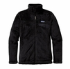 Patagonia Womens Full-Zip Re-Tool Fleece Jacket Black