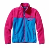 Patagonia Womens Full- Zip Snap-T Fleece Jacket Andes Blue (Autumn 2014)