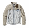 Patagonia Womens Full-Zip Snap-T Fleece Jacket Birch White