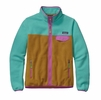Patagonia Womens Full-Zip Snap-T Fleece Jacket Howling Turquoise