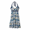 Patagonia Womens Iliana Halter Dress Best Fronde: Bandana Blue
